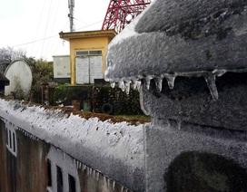 Xuất hiện băng tuyết trên đỉnh Phia Oắc - Cao Bằng