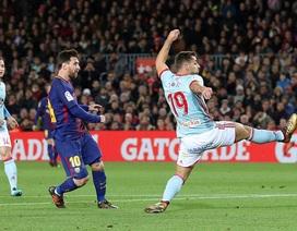 Barcelona 5-0 Celta Vigo: Cú đúp của Messi