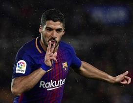 Messi-Suarez lập siêu phẩm, Barcelona ngược dòng hạ Sociedad