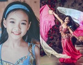 Vũ khúc bellydance quyến rũ của cô bé 11 tuổi Hà thành