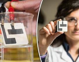 Các nhà khoa học phát triển cảm biến giấy có thể phát hiện nước ô nhiễm