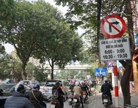 Chính thức cấm xe Uber, Grab trên một số tuyến phố giờ cao điểm