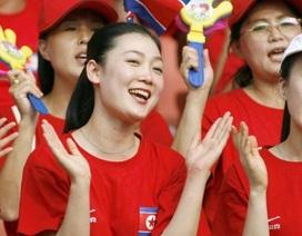 Đội cổ động xinh đẹp nổi tiếng của Triều Tiên