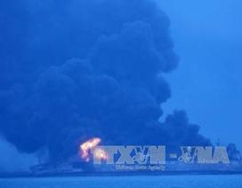 Tàu chở dầu Iran phát nổ, Trung Quốc tạm ngừng cứu hộ