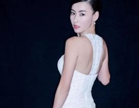 Trương Bá Chi xinh đẹp diện váy cưới
