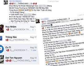 Tin nhắn lừa đảo trên Facebook lại bùng phát, người dùng cảnh giác