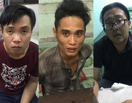 Bắt băng nhóm dàn cảnh cướp xe táo tợn ở Sài Gòn