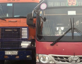 Đề nghị đình chỉ tài xế xe buýt rượt đuổi xe container trên quốc lộ