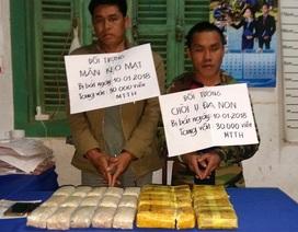 Chặn đứng hai người Lào vận chuyển 30 ngàn viên ma túy