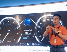 Sinh viên công nghệ Việt lần đầu được khám phá công nghệ xe tự hành