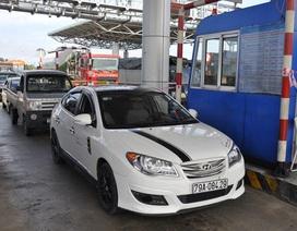 Tài xế dừng xe không chịu đi, trạm BOT Ninh An xả trạm nhiều lần