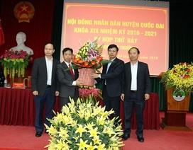 Hà Nội: Huyện Quốc Oai có Chủ tịch HĐND mới