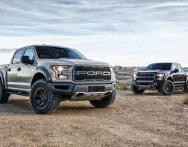 Top 10 xe bán chạy nhất nước Mỹ năm 2017