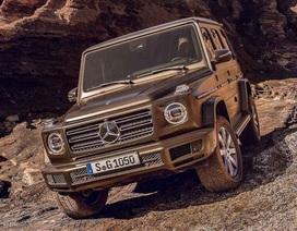 Mercedes G-Class thế hệ mới bất ngờ lộ diện