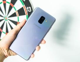 Cận cảnh Samsung Galaxy A8+ sắp bán tại Việt Nam