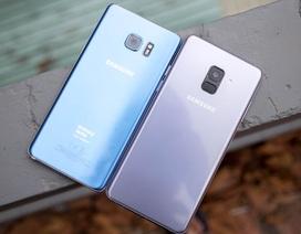 So sánh nhanh Galaxy A8+ và Galaxy Note FE