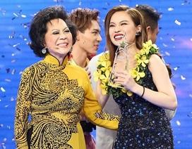 Giang Hồng Ngọc bất ngờ đăng quang Quán quân cuộc thi Cặp đôi hoàn hảo