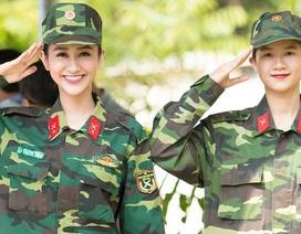 Hà Thu và em gái bất ngờ làm chiến sĩ phòng cháy chữa cháy