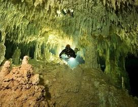 Choáng ngợp với vẻ đẹp của hang động chìm dưới nước lớn nhất thế giới