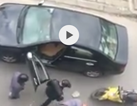 Công an điều tra vụ một giám đốc bị hành hung dã man giữa phố