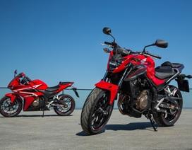 Bộ ba môtô 500cc của Honda chính thức ra mắt