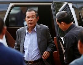 """Thủ tướng Hun Sen chỉ trích các hãng truyền thông Campuchia đưa """"tin giả"""""""