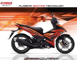 Yamaha Exciter 150 RC thêm màu cam đen thời thượng