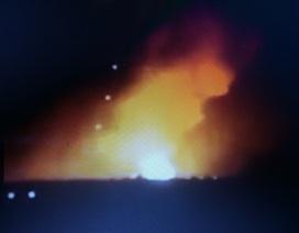 Nổ lớn tại kho đạn của Lữ đoàn tăng thiết giáp ở Gia Lai