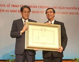 Nhật Bản trao Huân chương Mặt trời mọc cho cựu Đại sứ Việt Nam