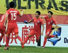 Thắng sát nút Malaysia, U23 Hàn Quốc nhọc nhằn vào bán kết