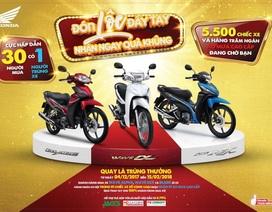 Cơ hội mua xe trúng xe với Honda Việt Nam