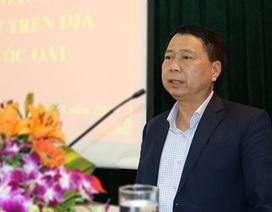"""Phó Giám đốc Công an Hà Nội: Chưa tìm thấy Chủ tịch huyện """"mất tích"""""""