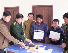 Trinh sát biên phòng quật ngã 2 người Lào vận chuyển 18 nghìn viên ma túy