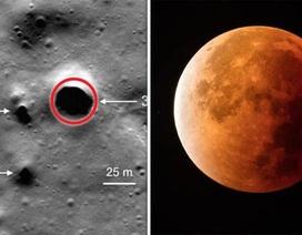 Hệ thống các đường ống trên mặt trăng có thể chứa nước