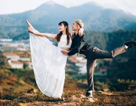 Ảnh nghệ thuật ấn tượng của cặp bạn thân đam mê múa