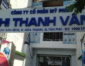 Công ty Phi Thanh Vân bị đình chỉ sản xuất, tiêu hủy nhiều mỹ phẩm