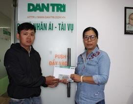 Hơn 112 triệu đồng đến với gia đình bà Đỗ Thị Vân