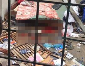 Nổ rung chuyển ngôi nhà, nam thanh niên bị thương nặng