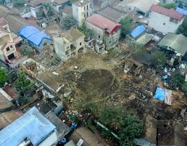 Hiện trường vụ nổ kinh hoàng ở Bắc Ninh nhìn từ trên cao