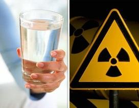 Một nửa người Mỹ đang uống nước nhiễm phóng xạ