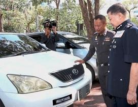 Thái Lan bắt lô xe ăn cắp chuẩn bị được đưa sang các nước ASEAN