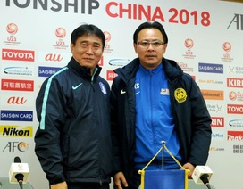 HLV U23 Malaysia nói gì trước trận chiến trước U23 Hàn Quốc?