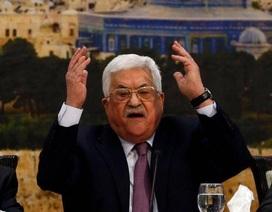 """Tổng thống Palestine: """"Hành động của ông Trump là cú tát thế kỷ"""""""