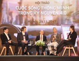 """""""Tại Việt Nam, không dùng tiền mặt là vấn đề lớn, nhưng là mong mỏi của người dân"""""""