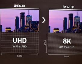 TV QLED 8K đầu tiên của thế giới - kiến tạo tương lai ngành công nghiệp hình ảnh