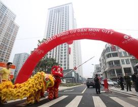 Tưng bừng lễ bàn giao căn hộ chung cư và trao sổ đỏ cho cư dân khu liền kề dự án HD Mon