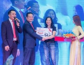 Bất ngờ khách hàng trúng thưởng Honda SH khi mua P.H Complex Nha Trang