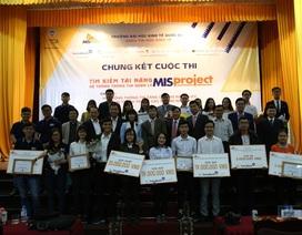 Sinh viên trường Kinh tế Quốc dân ẵm giải thưởng gần 40 triệu đồng