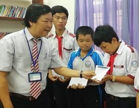 Trao 62 suất học bổng đến học sinh nghèo ở Bà Rịa – Vũng Tàu