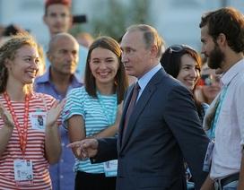 Nguồn cảm hứng mang tên Putin của giới trẻ Nga